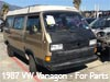 1987 VW Vanagon for parts