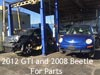 2012 GTI 2008 Beetle for Parts